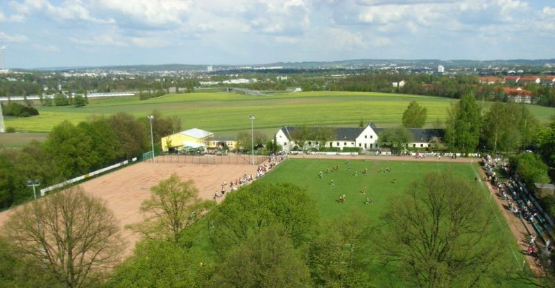 Blick von der Rabesteiner Schule